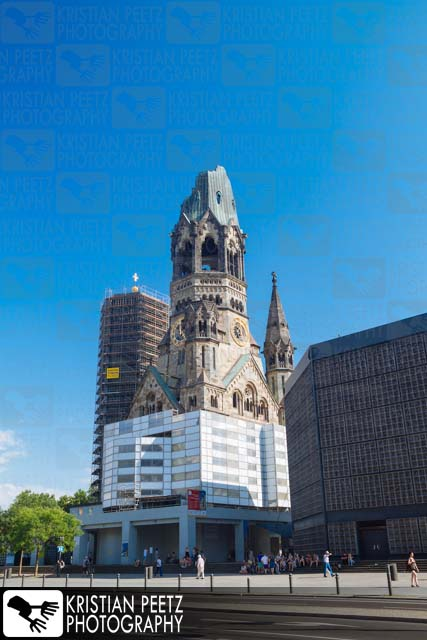 """Kaiser Wilhelm Memorial Church"" in Berlin - Copyright by Kristian Peetz"