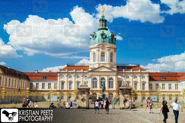 "Castle ""Schloss Charlottenburg"" in Berlin - Copyright by Kristian Peetz"