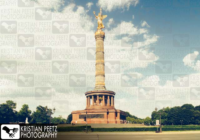 "The ""Siegessäule"" in Berlin - Copyright by Kristian Peetz"