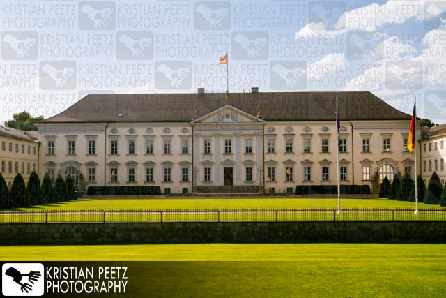 """Schloss Bellevue"" in Berlin - Copyright by Kristian Peetz"