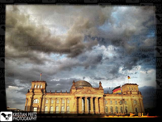 "The ""Reichstag"" in Berlin - Copyright by Kristian Peetz"