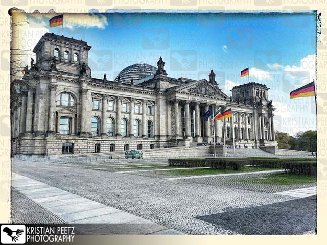 """Reichstag"" in Berlin - Copyright by Kristian Peetz"