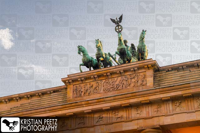 "The ""Brandenburger Tor"" in Berlin - Copyright by Kristian Peetz"
