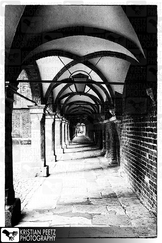 Old tunnel/gateway in the city of Lübeck - Copyright by Kristian Peetz