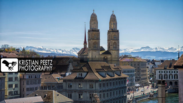 View of the Great Minster in Zurich - copyright: Kristian Peetz