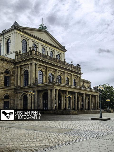 Deutschland, Hannover, Blick auf die Staatsoper, Oper.